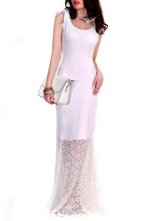 Платье MONT PELLIER. Цвет: белый, кружево