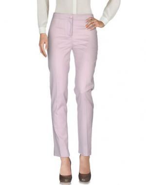 Повседневные брюки AMINA RUBINACCI. Цвет: светло-розовый