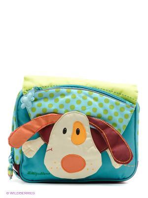 Рюкзак Собачка Джеф Lilliputiens. Цвет: бирюзовый, салатовый, бордовый