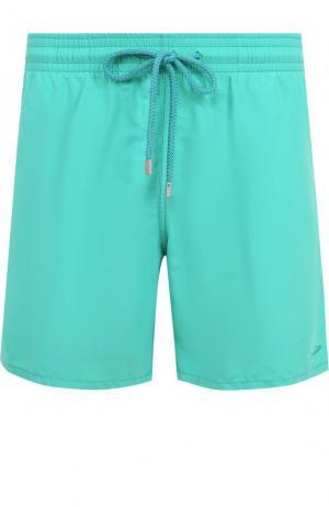 Плавки-шорты с карманами Vilebrequin. Цвет: зеленый