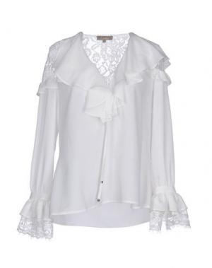 Блузка EUREKA. Цвет: белый