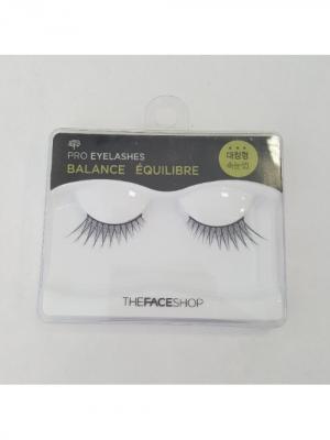 Накладные реснички DAILY BEAUTY№3 BALANCE The Face Shop. Цвет: черный