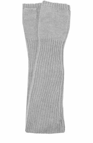 Кашемировые митенки Balmuir. Цвет: светло-серый
