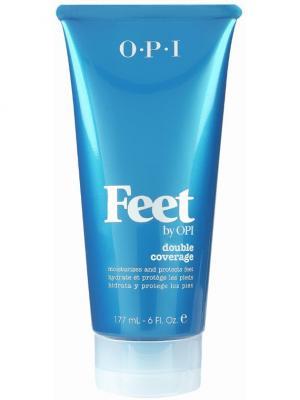 Opi Лосьон-двойная защита для ног Feet by Double Coverage Lotion, 177 мл. Цвет: прозрачный
