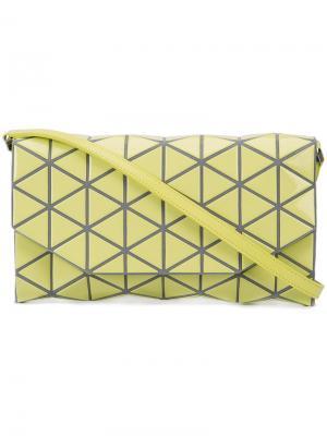 Сумка через плечо с геометрическим дизайном Bao Issey Miyake. Цвет: жёлтый и оранжевый