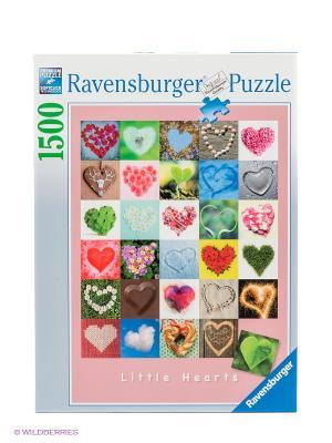 Пазл Галерея сердец, 1500 деталей Ravensburger. Цвет: серый