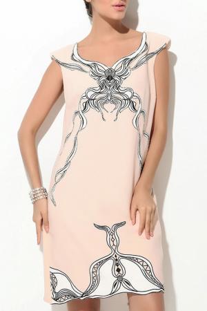 Платье Ludomara fashion. Цвет: розовый