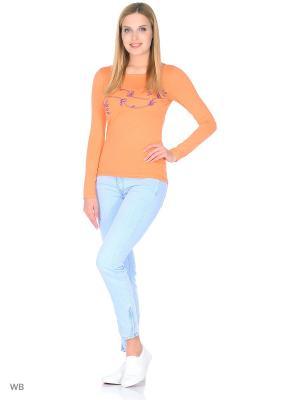 Лонгслив Felis Chaus. Цвет: оранжевый