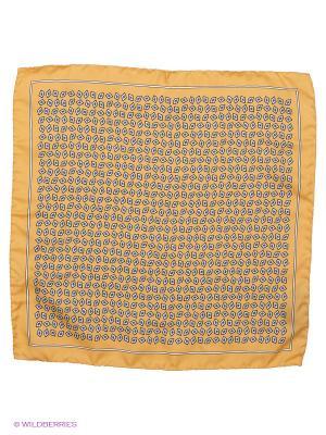 Платок-паше Troy collezione. Цвет: желтый