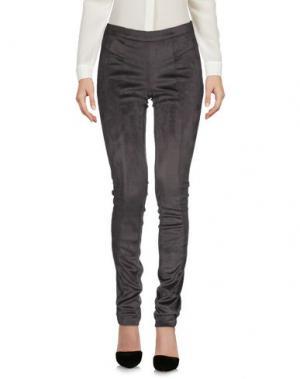 Повседневные брюки TRANSIT PAR-SUCH. Цвет: свинцово-серый
