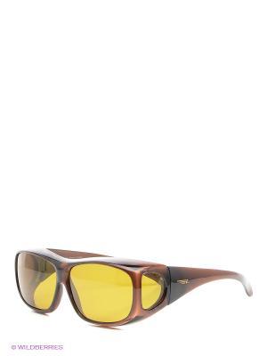 Очки Legna. Цвет: коричневый, желтый
