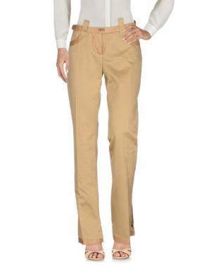 Повседневные брюки WEBER. Цвет: песочный