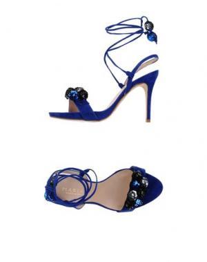 Сандалии MARIAN. Цвет: ярко-синий
