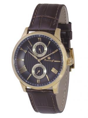 Часы наручные Romanoff. Цвет: коричневый, золотистый