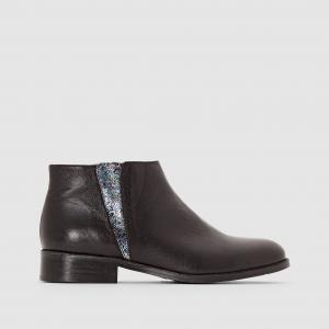 Ботинки кожаные Arime MELLOW YELLOW. Цвет: черный