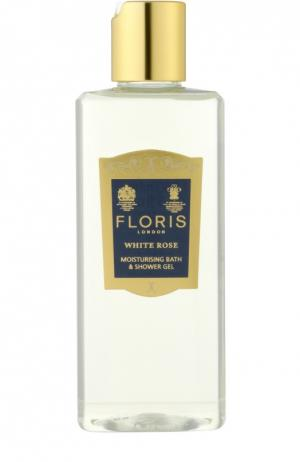Гель для душа и ванны White Rose Floris. Цвет: бесцветный