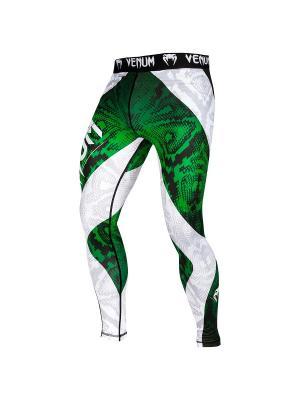 Тайтсы Amazonia 5.0 Green Venum. Цвет: зеленый