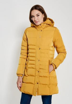 Куртка утепленная QED London. Цвет: оранжевый