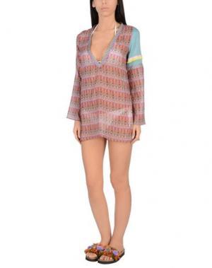 Пляжное платье AMORISSIMO. Цвет: фиолетовый