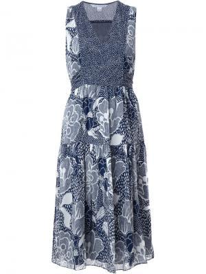 Платье Vanya Diane Von Furstenberg. Цвет: синий