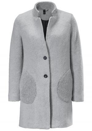 Короткое пальто B.C. BEST CONNECTIONS by Heine. Цвет: серый