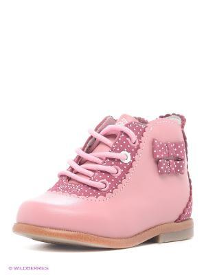 Ботинки Kapika. Цвет: розовый