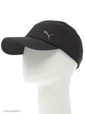 Бейсболка Unisex Poly Cot Cap Puma. Цвет: черный