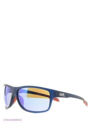 Солнцезащитные очки MS 01-325 19P Mario Rossi. Цвет: синий