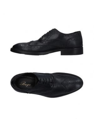 Обувь на шнурках BAGE. Цвет: темно-синий