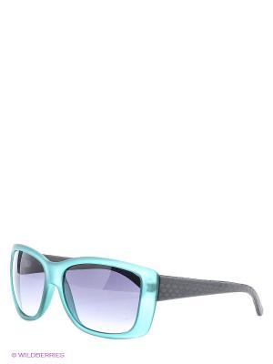 Солнцезащитные очки TOUCH. Цвет: зеленый, черный