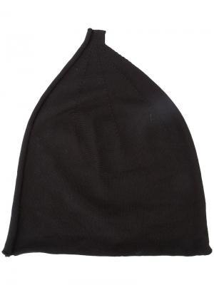 Шапка-бини с наружным швом Label Under Construction. Цвет: чёрный