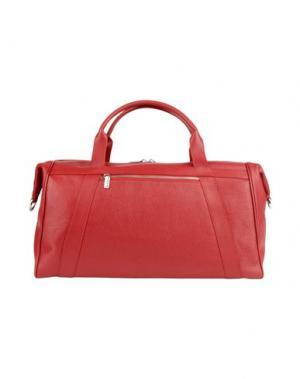 Дорожная сумка GIUDI. Цвет: красный