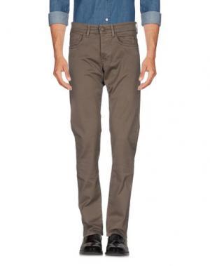 Повседневные брюки SIVIGLIA. Цвет: свинцово-серый