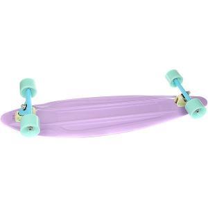 Лонгборд Пластборд Gum Long Purple 9 x 36 (91.4 см) Пластборды. Цвет: фиолетовый