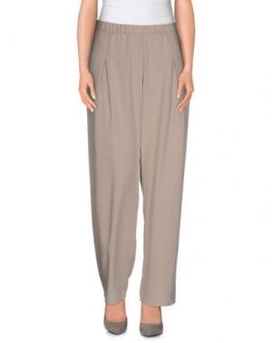 Повседневные брюки BALLANTYNE. Цвет: серый