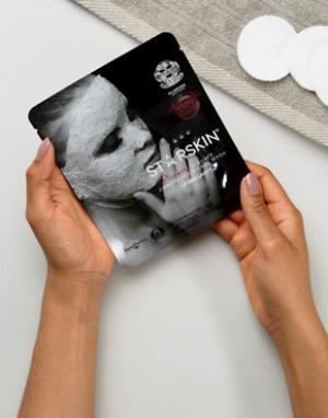 Starskin Компрессионная V-образная маска с объемным эффектом. Цвет: бесцветный
