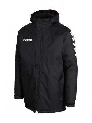 Куртка TEAM PLAYER BENCH  JACKET HUMMEL. Цвет: черный