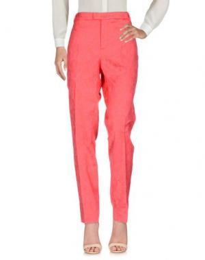 Повседневные брюки XANDRES. Цвет: красный