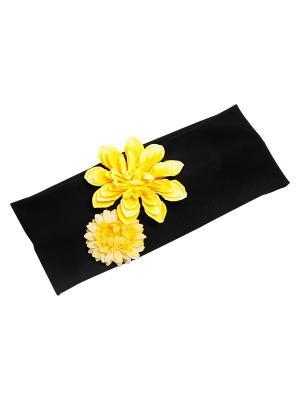 Повязка Kameo-bis. Цвет: желтый, черный