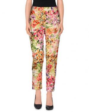 Повседневные брюки SI-JAY. Цвет: зеленый