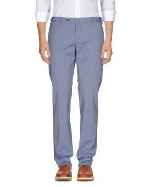 Повседневные брюки G.T.A. MANIFATTURA PANTALONI. Цвет: пастельно-синий