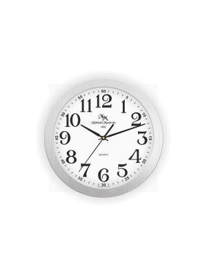 Часы настенные Михаилъ Москвинъ. Цвет: серебристый