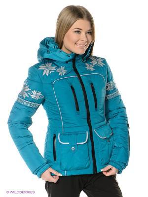 Куртка Sport Vision. Цвет: бирюзовый