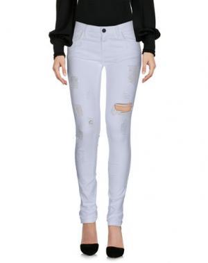 Повседневные брюки MNML COUTURE. Цвет: белый