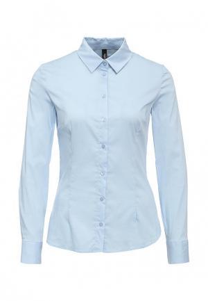 Рубашка Bestia. Цвет: голубой