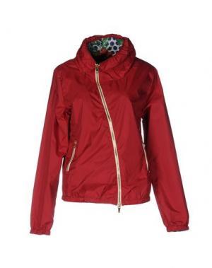 Куртка CIESSE PIUMINI. Цвет: красно-коричневый