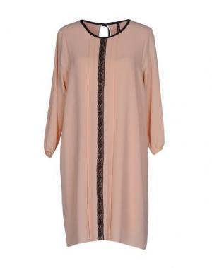 Короткое платье EMPATHIE. Цвет: розовый