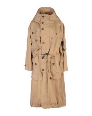 Легкое пальто DSQUARED2. Цвет: песочный