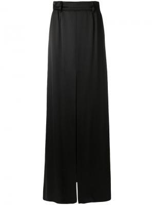 Длинная юбка Prada. Цвет: чёрный