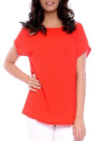 Блуза Emma Monti. Цвет: оранжевый